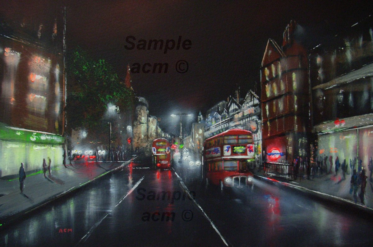 Today&#39;s new advanced/updated version of my london paintings &#39;Chancery Lane&#39; &quot;16 x 12&quot; #art #artist #painting #London #tourism #artforsale<br>http://pic.twitter.com/QX4y1l48Lt