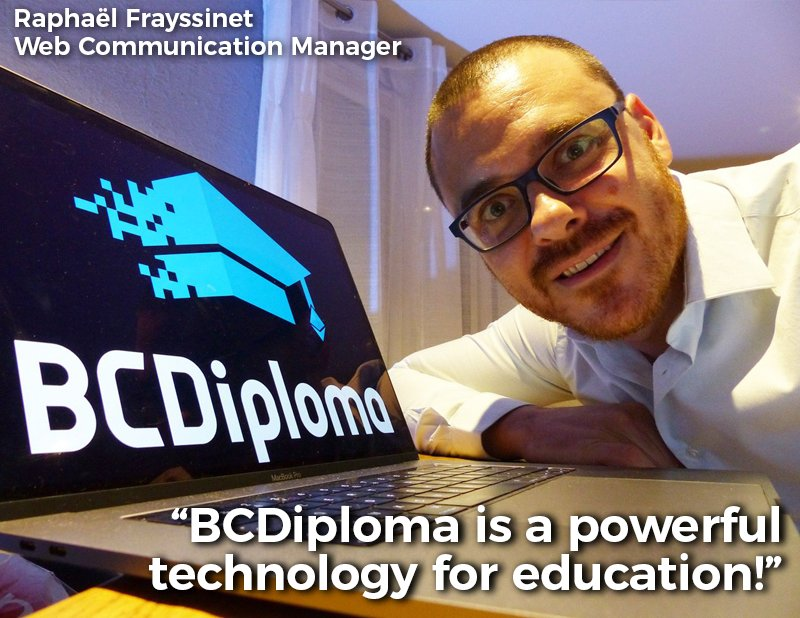 Meet the team / Day 4! See you tomorrow! #BCDiploma #quoteoftheday #crew #blockchain #ethereum #frenchtech #edtech #data #certification<br>http://pic.twitter.com/x8OwHMhv1H