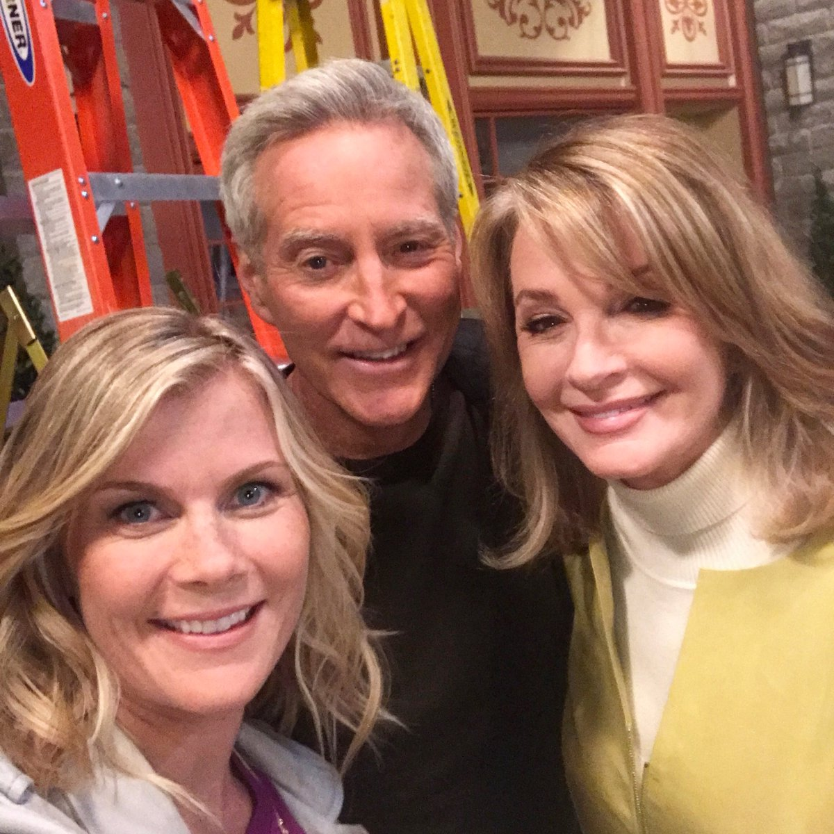 """Alison Sweeney Family Pictures alison sweeney on twitter: """"so fun to be back home"""