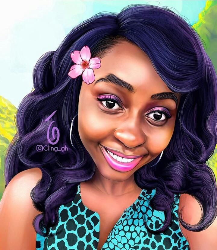 Portrait of @adwubi_08    #clingart #digitalpainting #wacom #portraitcommission  #blackqueen #artistsontwitter<br>http://pic.twitter.com/rIY9mbbehv