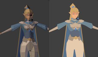 Tried my hand at making a low poly character  http:// dlvr.it/PwNpVd  &nbsp;   #lowpoly #reddit<br>http://pic.twitter.com/lvgT5dAbLn