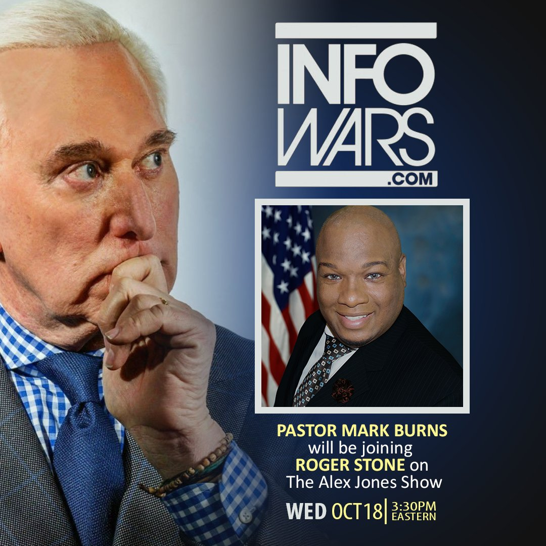 I will be joining @netflix star @RogerJStoneJr on @Infowars @RealAlexJones Show TODAY at 3:30PM ET. Elect Gov. @henrymcmaster #SouthCarolina <br>http://pic.twitter.com/m06d1Ca4Ev
