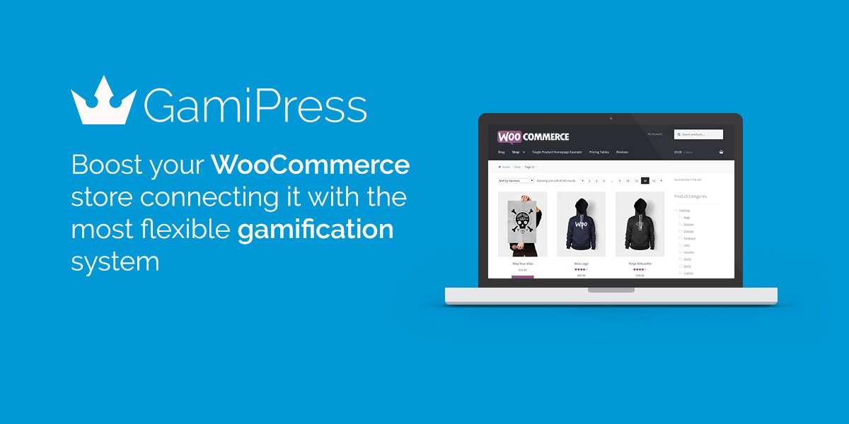 Award your users w/ digital rewards by purchasing products on your #eCommerce w/ this integration to @WooCommerce  https:// wordpress.org/plugins/gamipr ess-woocommerce-integration/ &nbsp; … <br>http://pic.twitter.com/mebOwtFWoo