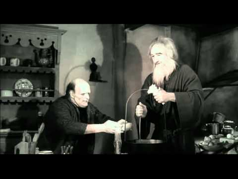 The Monster\s best scene from Young Frankenstein. Happy Birthday, Peter Boyle: