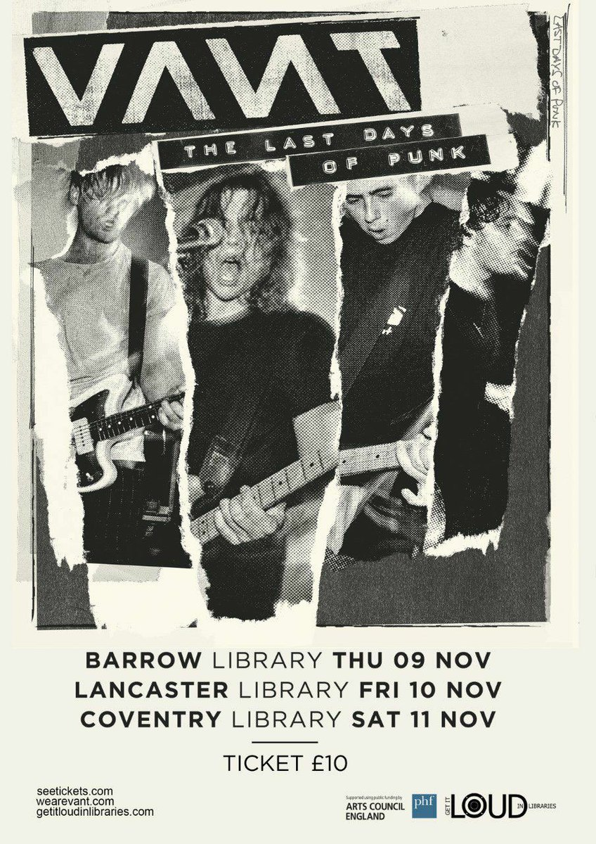 Hey @LancasterUni @LancasterCityUK did you know you have some more absolutely AMAZING #gigs coming up in your library?! Tickets @seetickets<br>http://pic.twitter.com/DOCRJLCWWp