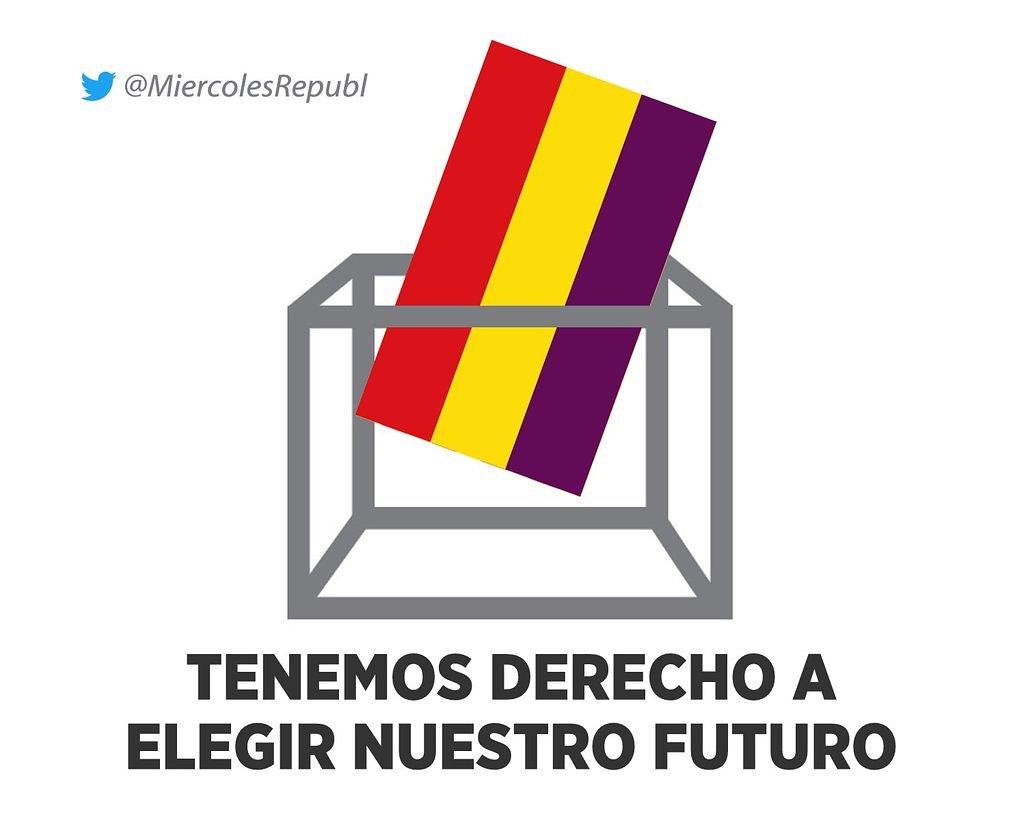 #SeNecesitaRepública Por nuestro derecho...