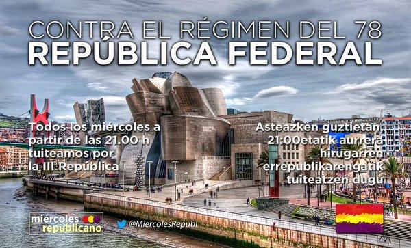 #SeNecesitaRepública Sin República, no h...