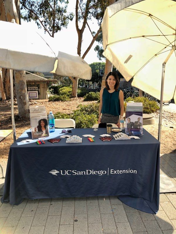 We love meeting our current &amp; #futurestudents. Today we&#39;re at the #UCSD #GradFair . #UCSanDiegoExtension #SanDiego #UCSanDiego #opportunity<br>http://pic.twitter.com/Oik49Ml3s7