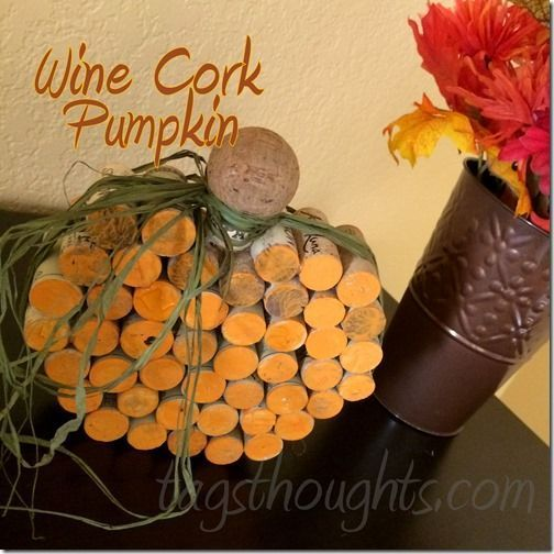 Anyone else love creating with wine corks? Tutorial:  http:// bit.ly/2x34BGU  &nbsp;    #upcycle #autumn #winecorks <br>http://pic.twitter.com/uViOnumIOz