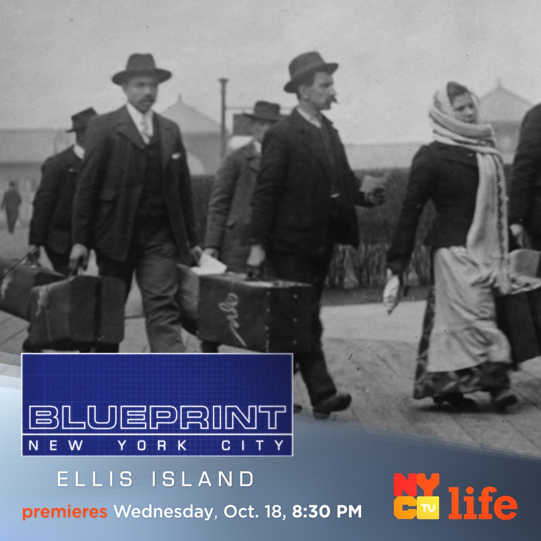 Nyc media on twitter watch nyc lifes new episode of blueprint watch nyc lifes new episode of blueprint nyc tonight at 830pm and experience ellis island the way more than 12 million immigrants didpicitter malvernweather Image collections
