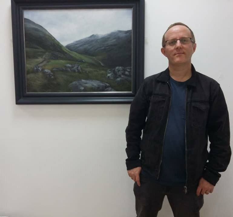 Meet #artist Mark Lippett this Sat 21 Oct at 11am &amp; 1pm in the #Gallery. Free entry  http:// ow.ly/E6wT30fXi3O  &nbsp;   #Stafford #staffordshirehour<br>http://pic.twitter.com/TrC9bpOnp3