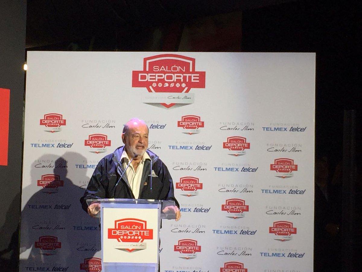 Inauguran formalmente el Salón Deporte Fundación Carlos Slim