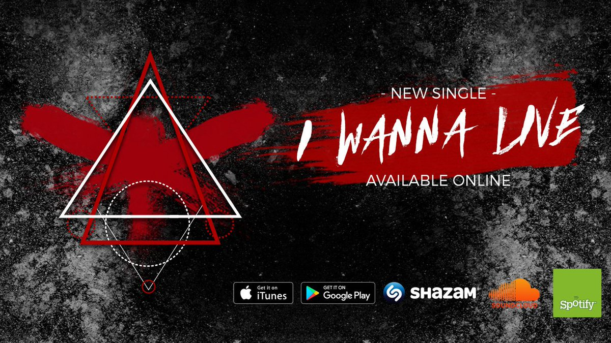 This Friday! The release of &quot;I Wanna Live&quot;. A brand new single for #free #download on #soundcloud <br>http://pic.twitter.com/UcISpaRT4h