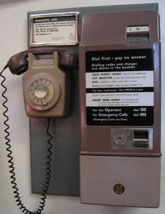 Before everyone had a mobile phone can y...
