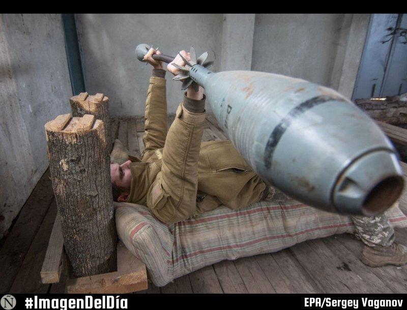 #ImagenDelDía Un soldado de las fuerzas...