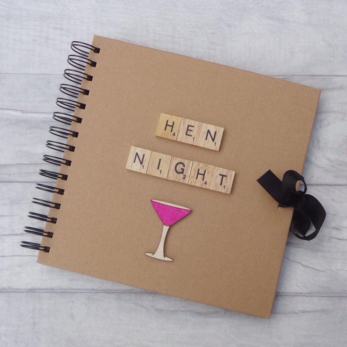 Hen Night album makes a lovely souvenir #weddingWednesday   http://www. etsy.com/uk/listing/490 061318/hen-night-party-album-bride-photo-book &nbsp; …  #HandmadeHour #gloshour #craftbuzz #mnukteam #onlinecraft<br>http://pic.twitter.com/QlzQhSRii1