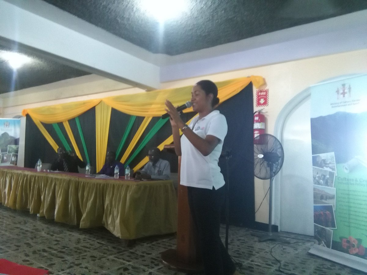 Taking #SocEnt everywhere in JA. Today&#39;s stop? St.Thomas #BlueandJohnCrowMountains  Economic Opportunities Workshop<br>http://pic.twitter.com/p2lJjsUnyj