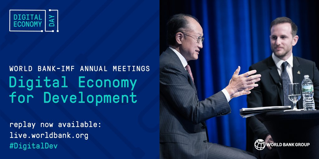 Missed our #DigitalDev event w/ @Airbnb&#39;s @jgebbia &amp; @JimYongKim? It&#39;s never too late... Replay now available here:  http:// wrld.bg/4yup30fUILh  &nbsp;  <br>http://pic.twitter.com/RbkxLKigYl