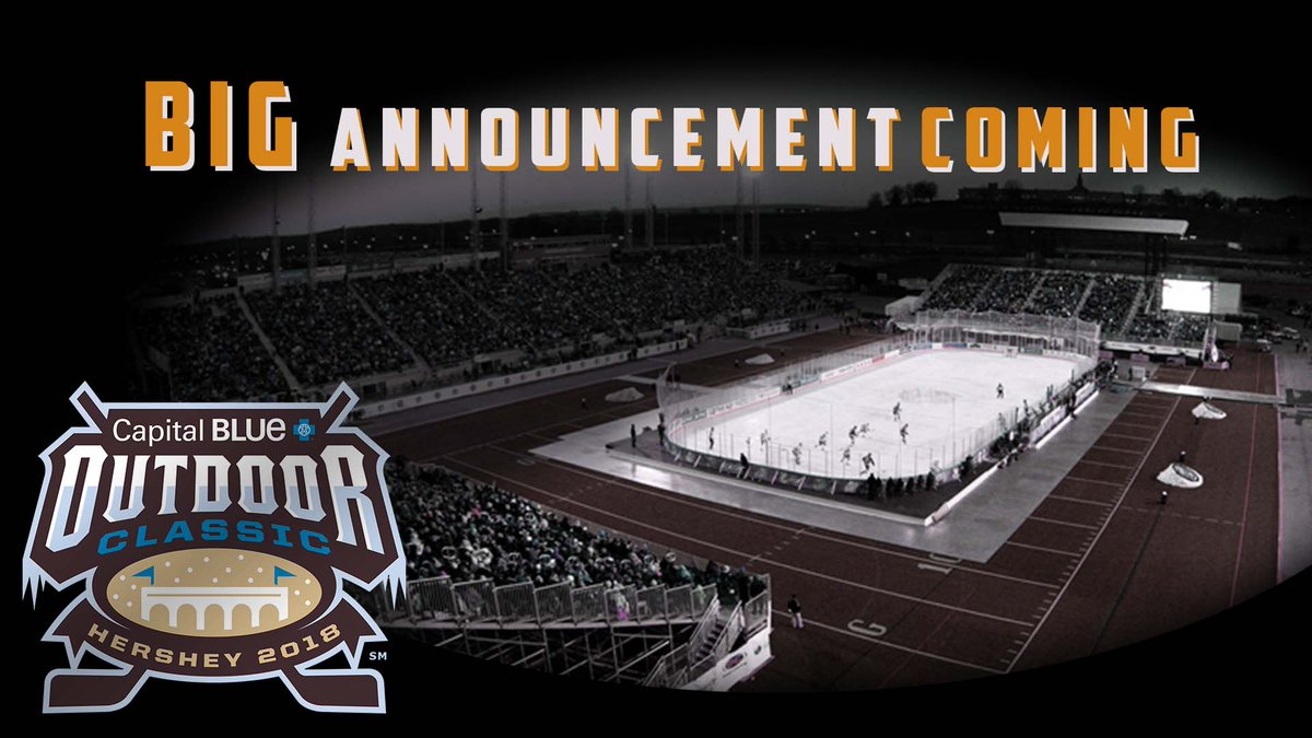 Hmm have you ever noticed we never gave details about the @capbluecross Outdoor Classic Alumni Game on 1/19? Big news tomorrow! #HBH #Alumni <br>http://pic.twitter.com/cuQwVLmJMP