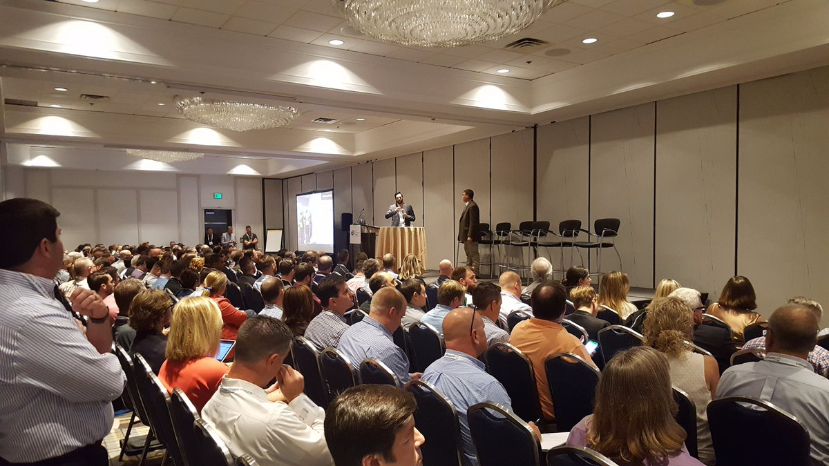 WOW - a full house at #LCICongress17! Thank you, @LeanConstruct, for the opportunity to share our lessons learned with #lean implementation. <br>http://pic.twitter.com/V8BvsK2AZF