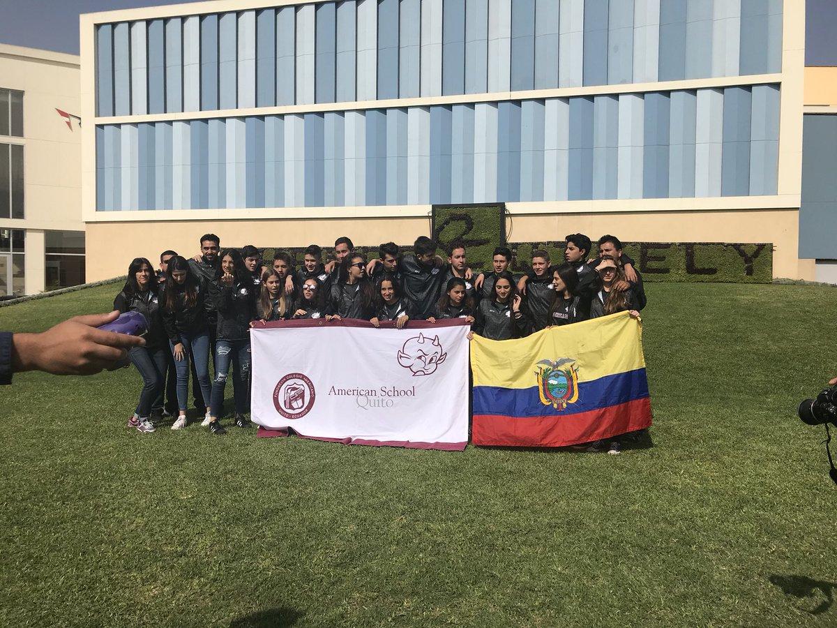 #SAAC tournament is about 2 start @ #FDRrocks #AASSA Can't help it, saw my flag and got emotional #ecuadorianbyblood #volleyball @AASSA_SA #ecuador #peru #southamerica #k12 #tournament @IAAGuayaquil why are u not here?<br>http://pic.twitter.com/9ldicPrdpA