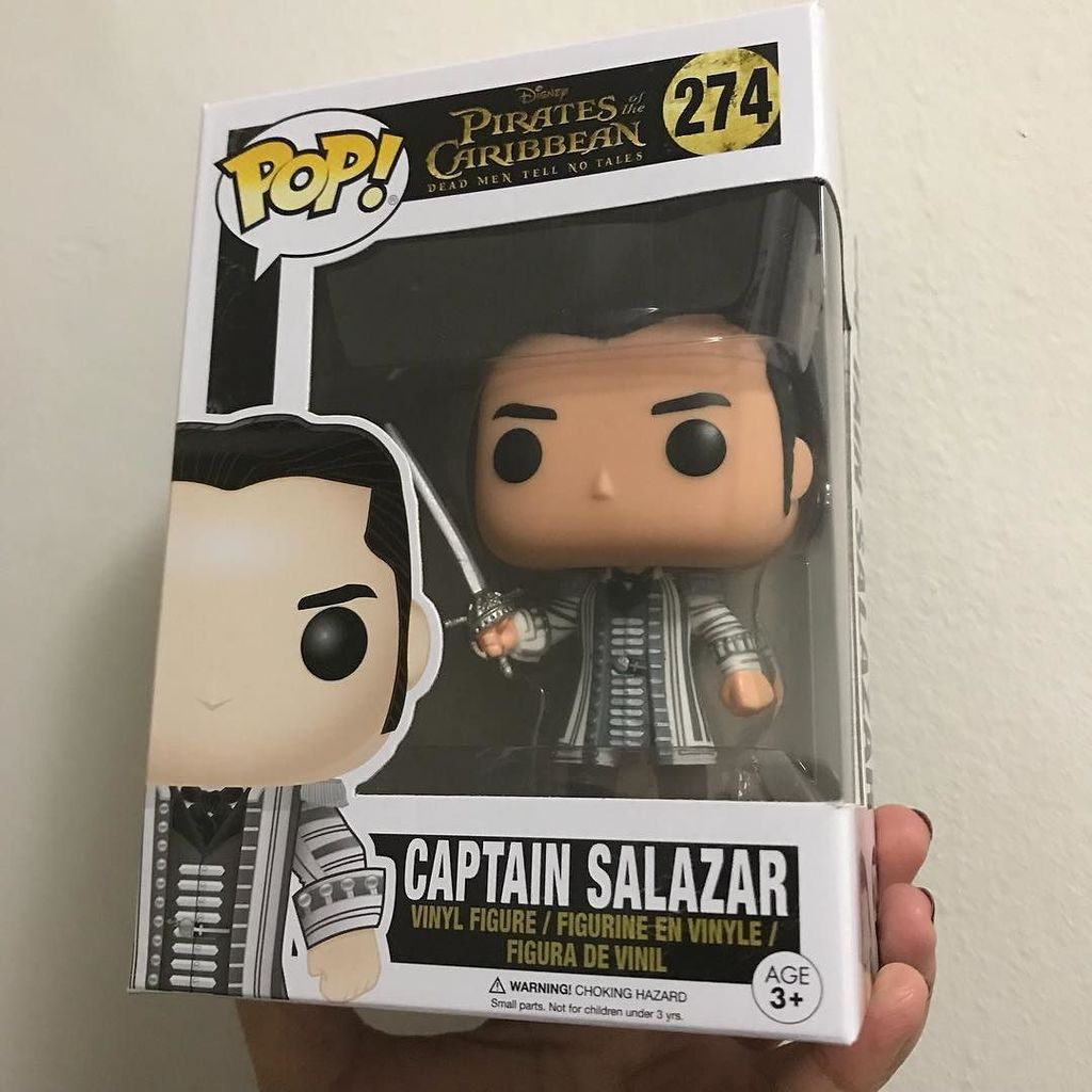 Not so fast, hombre! Now everyone's here... _ #captainsalazar #disneypirates #piratesofthecarribean #deadmentellnotales #funkopop #funko #f…<br>http://pic.twitter.com/1D0gEE54hE