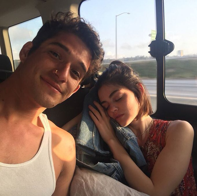 Lucy Hale wishing a happy birthday to Tyler Posey on instagram.