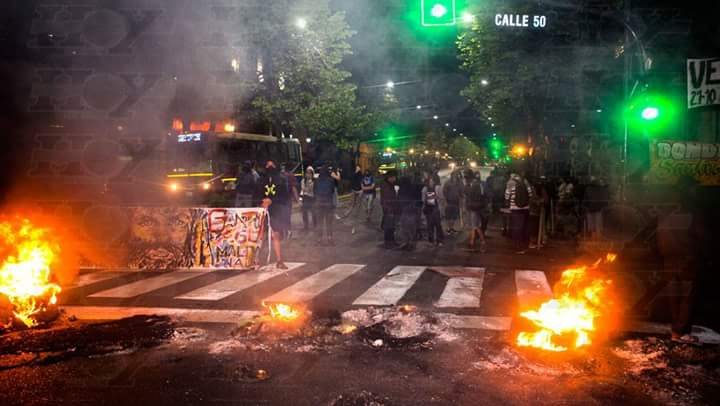 Argentina arde de rabia y dolor. #Santia...