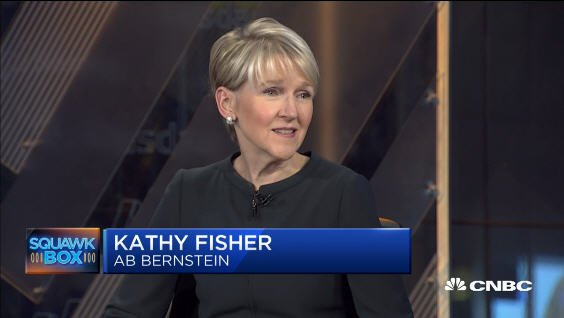 Kathy Fisher, Bernstein Head of Wealth and Investment Strategies, provides her #outlook on the #markets as #stocks continue to #rally on @SquawkCNBC  http:// cnb.cx/2hONDWv  &nbsp;   #KathyFisher #Bernstein<br>http://pic.twitter.com/JSiAGX4CZl