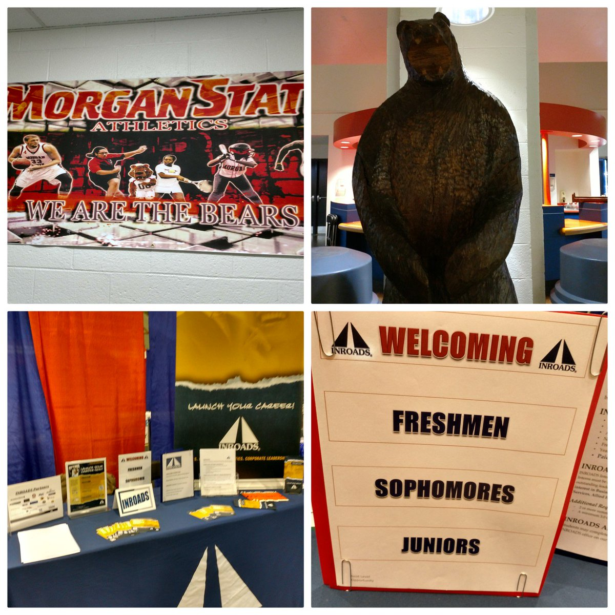 Fantastic Career Day @MorganStBears @MorganStateCCD. Always a pleasure to meet your best &amp; brightest students. #inroads #MorganState <br>http://pic.twitter.com/BXVy22l74T &ndash; à Morgan State University