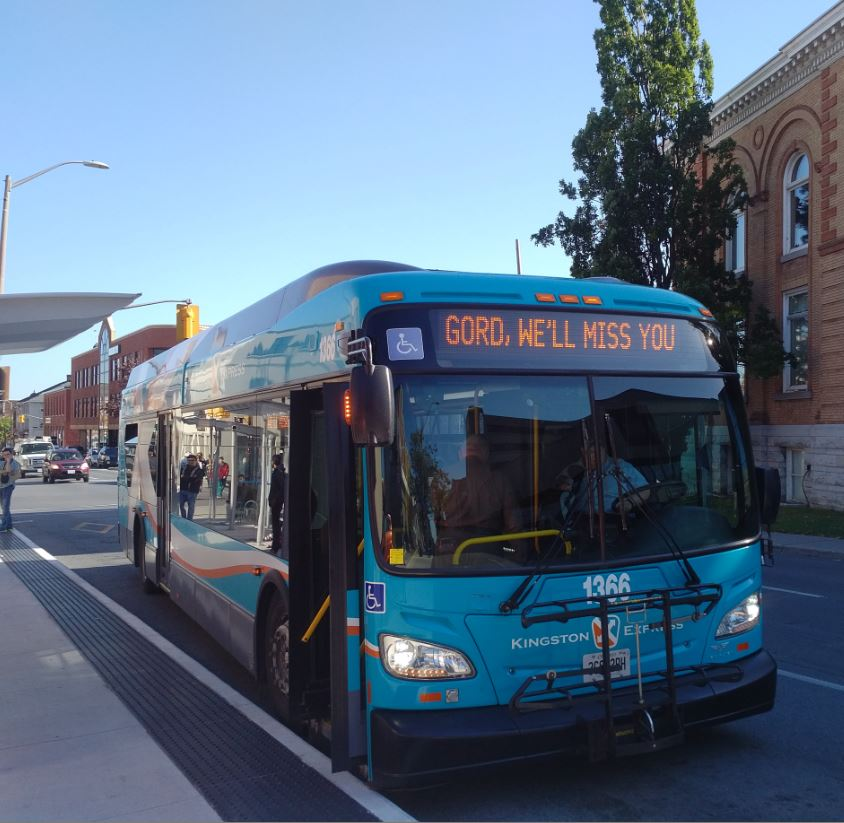 The #ygk community is feeling the loss of Gord.  Thank you @KingstonTransit<br>http://pic.twitter.com/0mN1JIsXRq