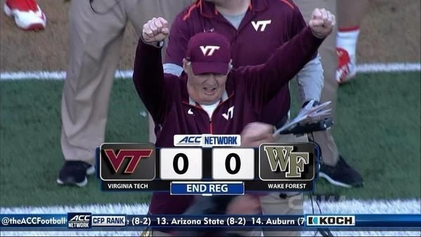 How many days till Frank Beamer s birthday you ask? Happy birthday to a true legend!