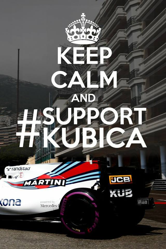 Make Kubica Geat Again! #SupportKubica #WilliamsF1 <br>http://pic.twitter.com/nOSRteVmDN