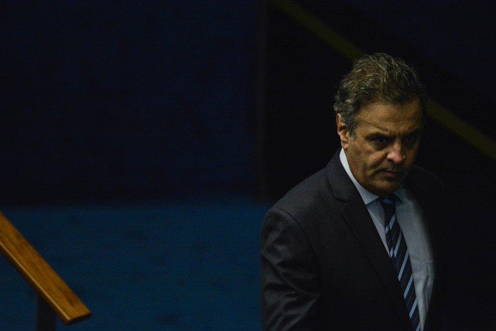 Na volta ao Senado, Aécio se diz vítima de 'ardilosa armação' e afirma que vai provar inocência https://t.co/J35ybmuWkw #G1