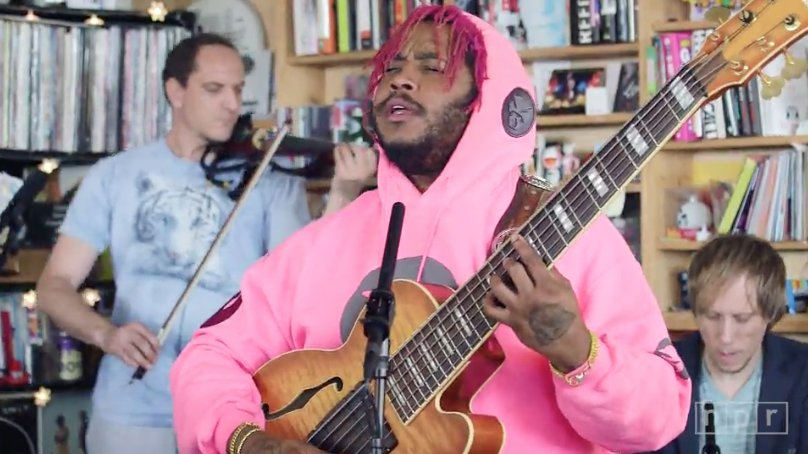 You need to see @Thundercat&#39;s &#39;Tiny Desk Concert' right now!  Watch him perform songs from his #Drunk album  http:// onsmash.com/s/ca0qi  &nbsp;  <br>http://pic.twitter.com/TUJS4wm9ST