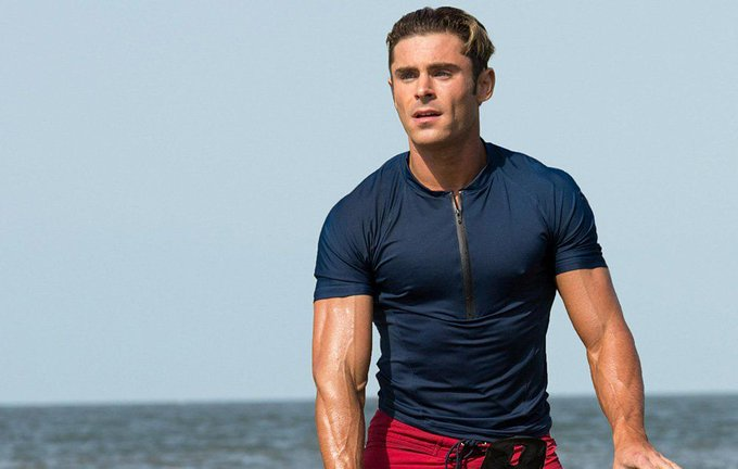 Happy Birthday, Zac Efron! Seen here in Baywatch (2017).
