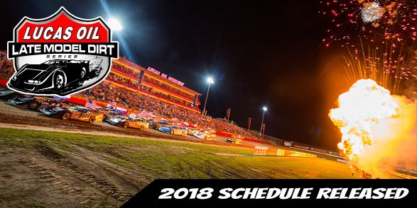 2018 #LucasDirt Schedule Announced!  Learn More --> https://t.co/Eb4AmuaO2d https://t.co/xBsOr1nGyt