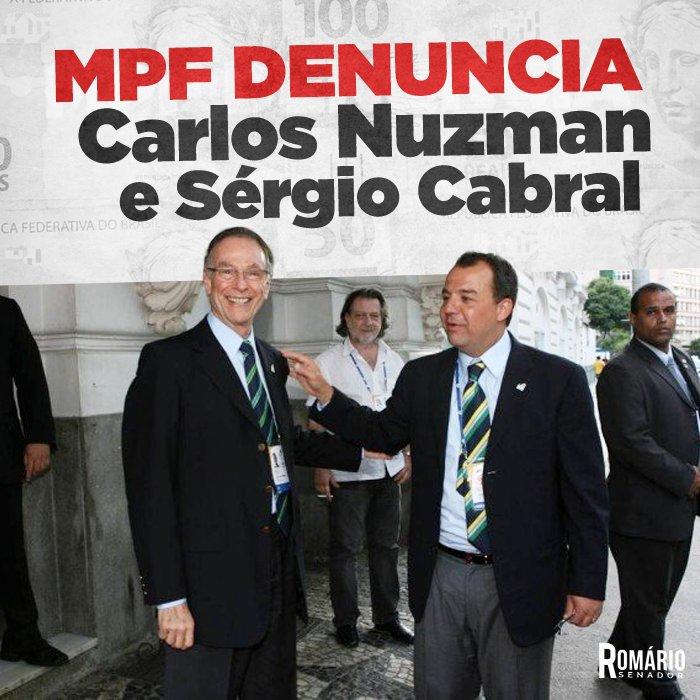 O MPF apresentou a denúncia contra o ex-presidente do COB e o ex-governador do Rio de Janeiro. Saiba mais: https://t.co/VN1cRsrQ32