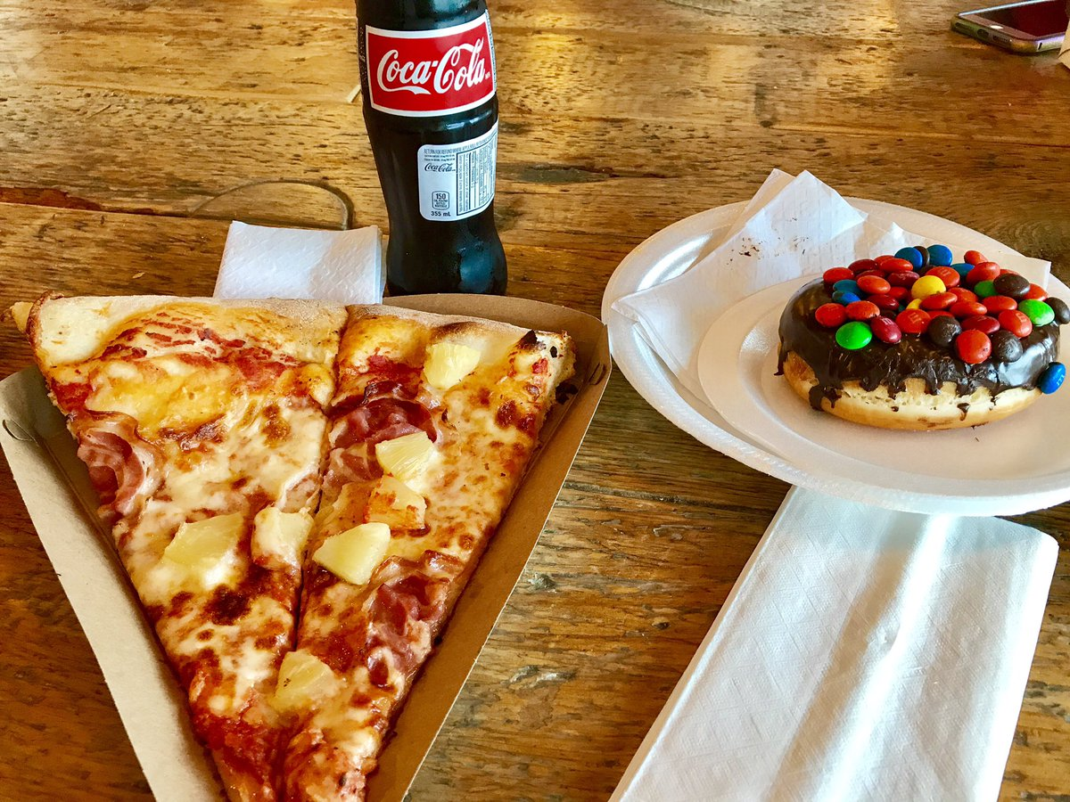 Time for a protein snack. Eat well and be positive. Don&#39;t let negativity bring you down #enjoylife #WednesdayWisdom #pizza #Donuts #cocacola<br>http://pic.twitter.com/4pGgwq3mzo