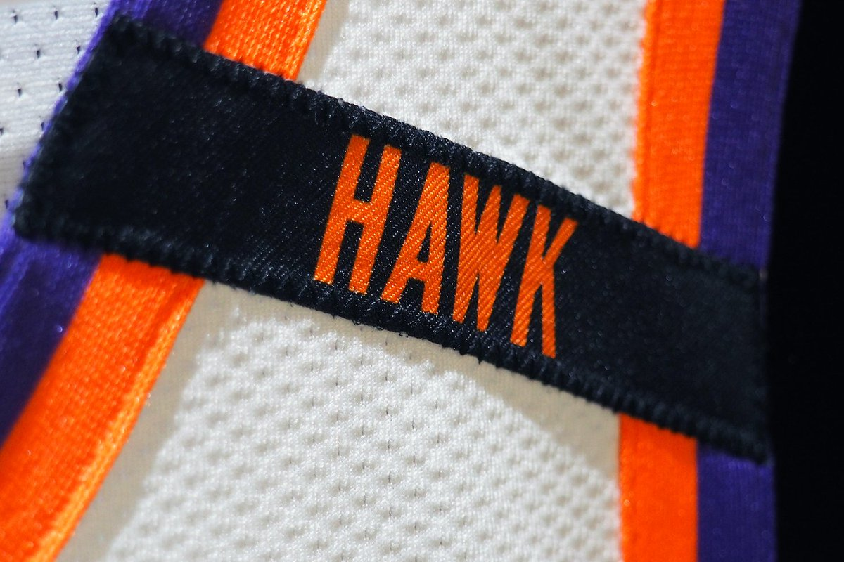 Honoring Hawk, all season long. https://t.co/Box2ajFY9t