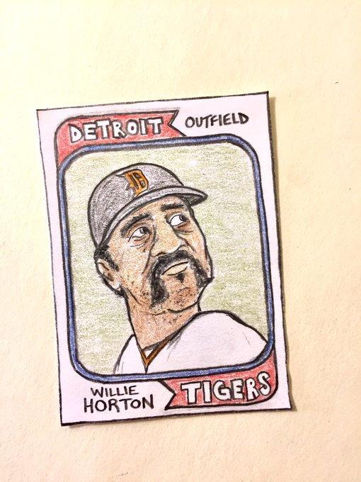 Happy 75th birthday, Willie Horton!