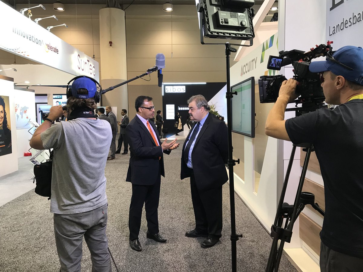 All things #sibos 2017 and #OpenBanking.@SunTecGroup CEO @knkumar speaks to Global Finace<br>http://pic.twitter.com/UgwPex2OPK