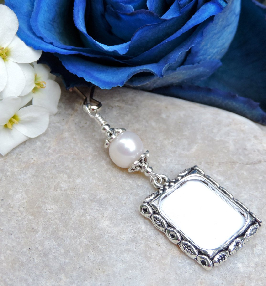Angie S On Twitter Wedding Bouquet Memory Charm Pearl Wedding