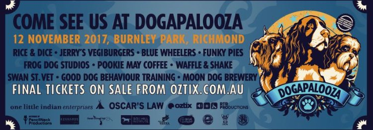 We&#39;re going to be at Dogapalooza on November 12th! Melbourne&#39;s first dog friendly music festival! Come visit our stall!  #melbourne <br>http://pic.twitter.com/Oq8o1UANDo
