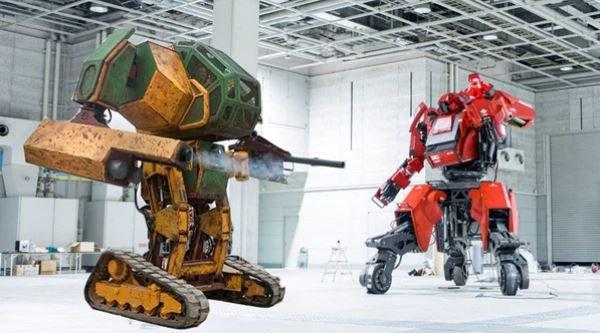 Combate 'a muerte' entre robots gigantes, la apuesta 'deportiva' del f...
