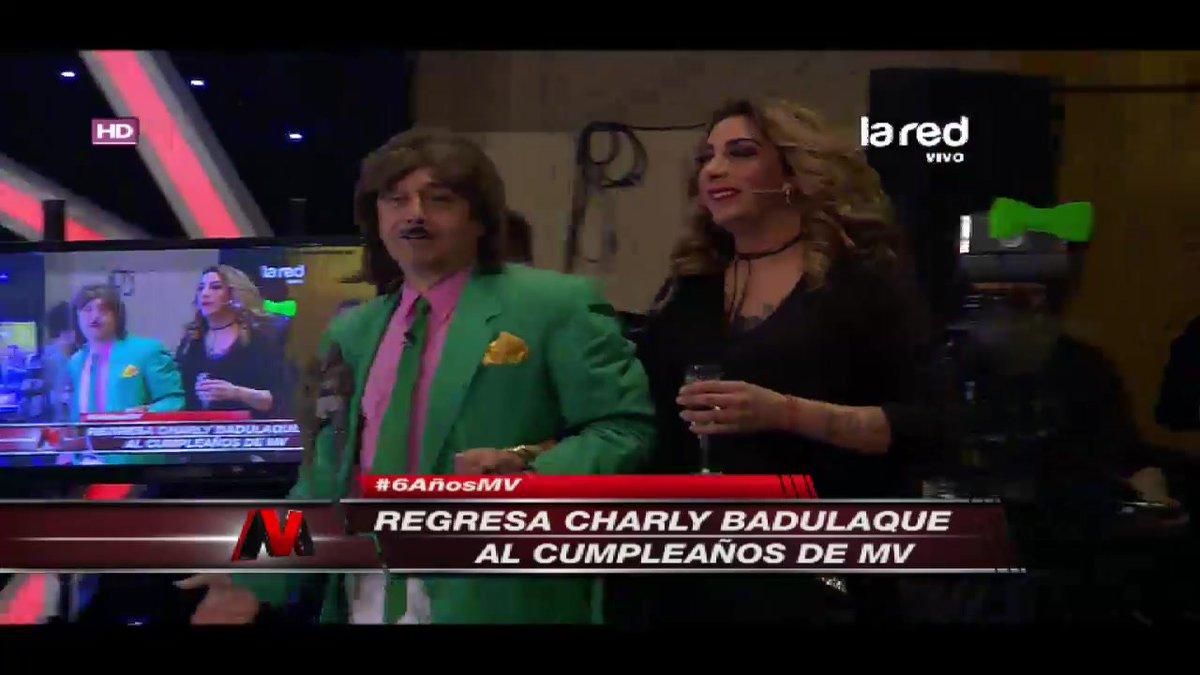 'Charly Badulaque' presentó a la genial 'Botota Fox' #6AñosMV -> ht...