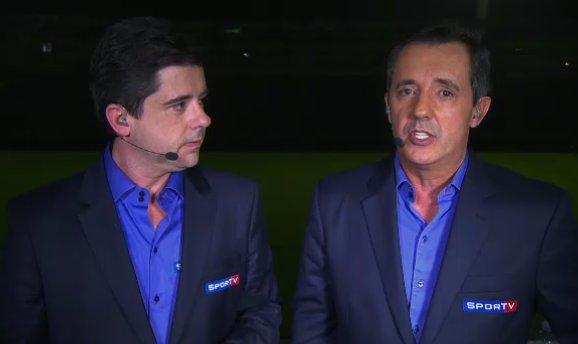 Carlos Eduardo Lino: 'O @BotafogoOficial hoje jogou muito mal, deve ter sido uma das piores partidas do ano.' Acompanhe no #TrocadePasses.