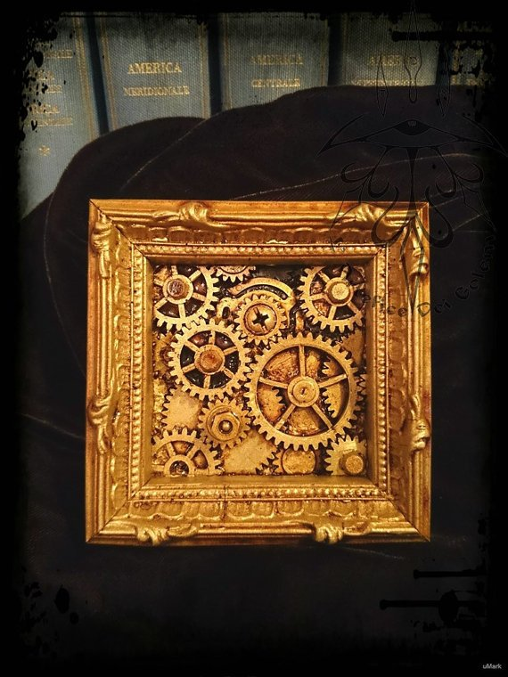 #steampunk https://t.co/PmW0XqTKoO The Steampunk Magnetic inspection and maintenance by ArteficeDeiGolem