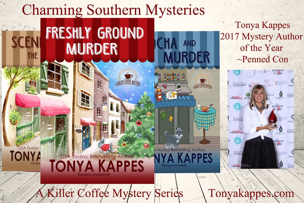 See why readers and authors picked Tonya Kappes as Mystery Author of the Year!   http:// bit.ly/2qdThEj  &nbsp;   #t4us #BookWorm #cozymystery<br>http://pic.twitter.com/3JDgcz7jNO