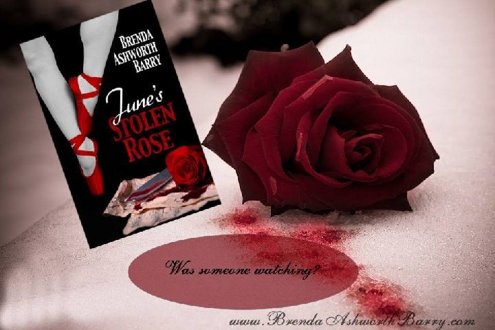 Beth Ann finds her things vanishing, hears footsteps and sees shadows, danger is lurking. #thriller #mystery  http://www. brendaashworthbarry.com/June-s-Stolen- Rose.html &nbsp; … <br>http://pic.twitter.com/NmkwaPSTFY